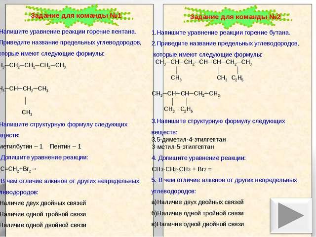 1.Напишите уравнение реакции горение пентана. 2.Приведите название предельны...
