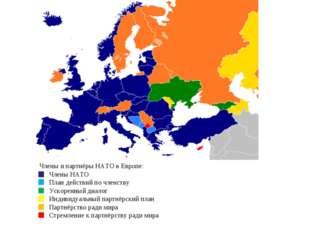 Члены и партнёры НАТО в Европе: Члены НАТО План действий по членств
