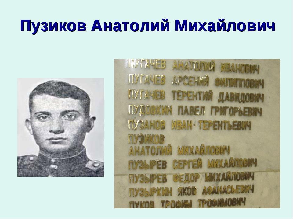Пузиков Анатолий Михайлович