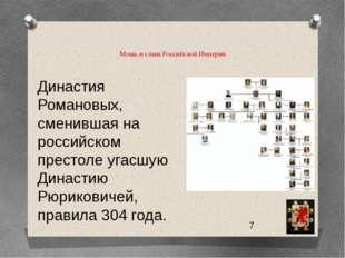 Мощь и слава Российской Империи  Династия Романовых, сменившая на российско