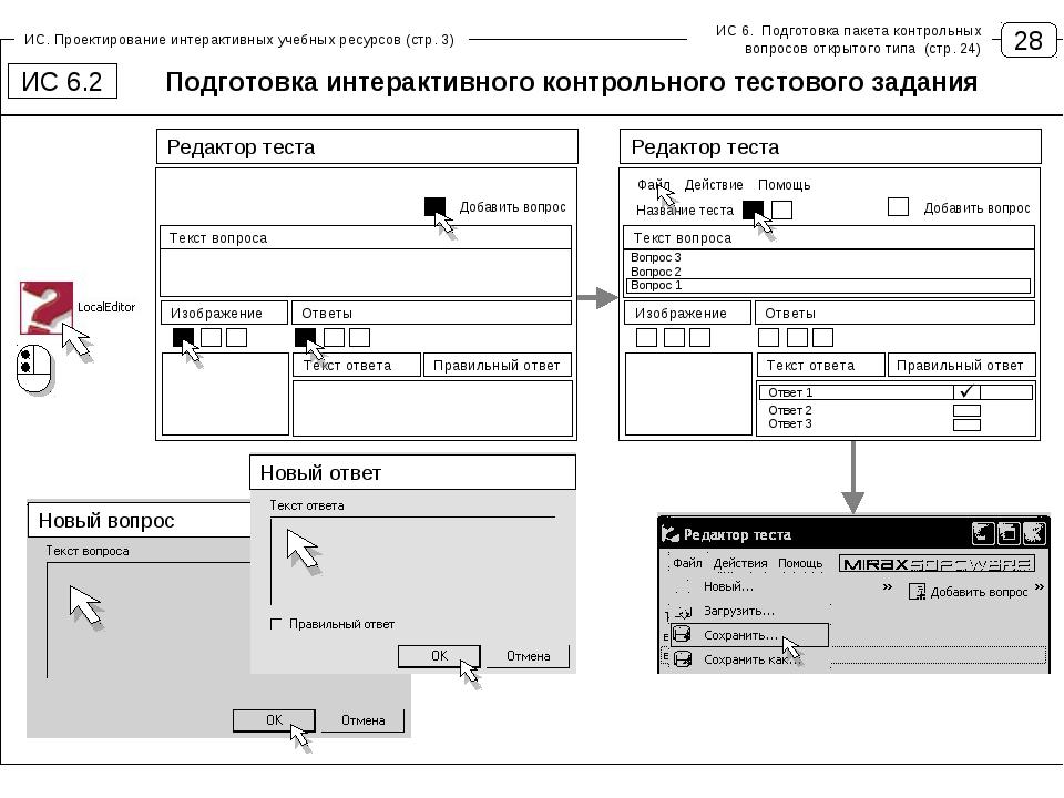 28 ИС. Проектирование интерактивных учебных ресурсов (стр. 3) Подготовка инте...