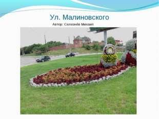 Ул. Малиновского Автор: Селезнёв Михаил