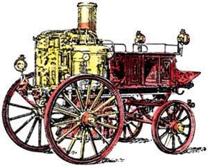 В XIX веке к насосу приспособили паровую установку