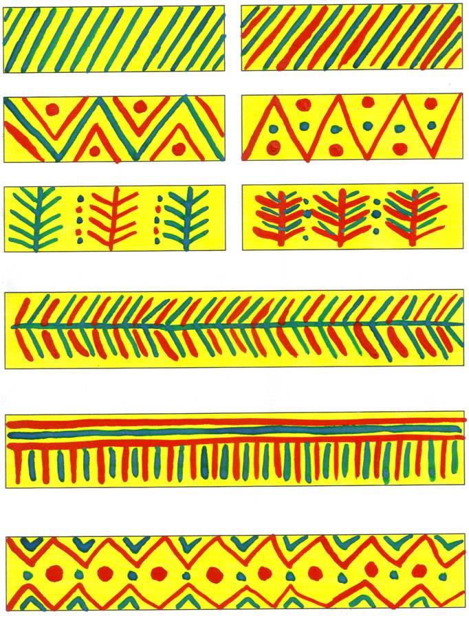 Разработка урока по изо в 1 классе неменская красота узоров созданных человеком