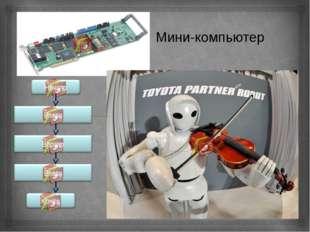 Мини-компьютер Влево Вправо Влево Начало Конец 
