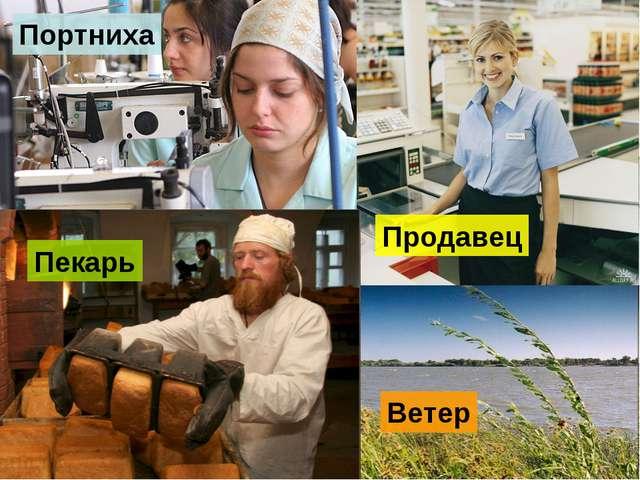 Портниха Продавец Пекарь Ветер