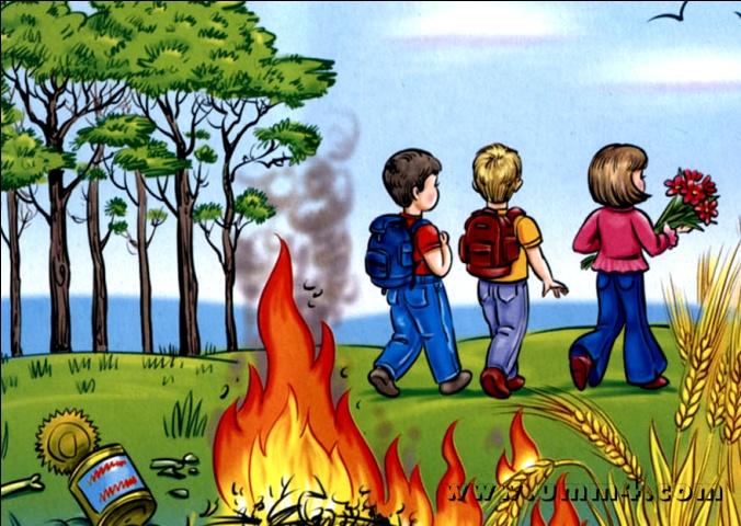 Детские презентации правила пожарной безопасности - Только новые учебники