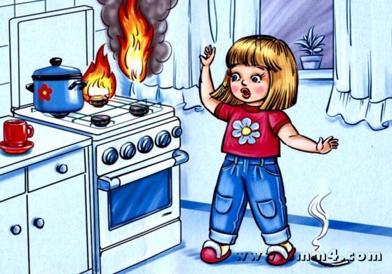 Правила пожарной безопасности - учите с нами - В помощь родителям - Каталог статей - Дошколёнок