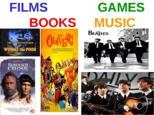 FILMS GAMES BOOKS MUSIC