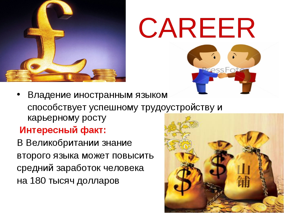CAREER Владение иностранным языком способствует успешному трудоустройству и...