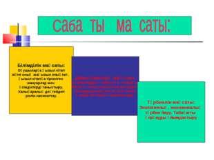 Білімділік мақсаты: Оқушыларға Қызыл кітап және оның маңызын анықтап , Қызыл