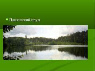 Панзелский пруд