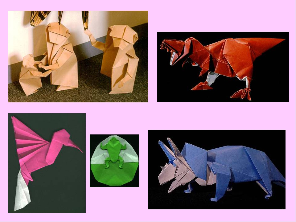 Мое объединение оригами