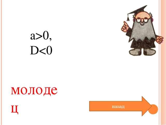 a>0, D