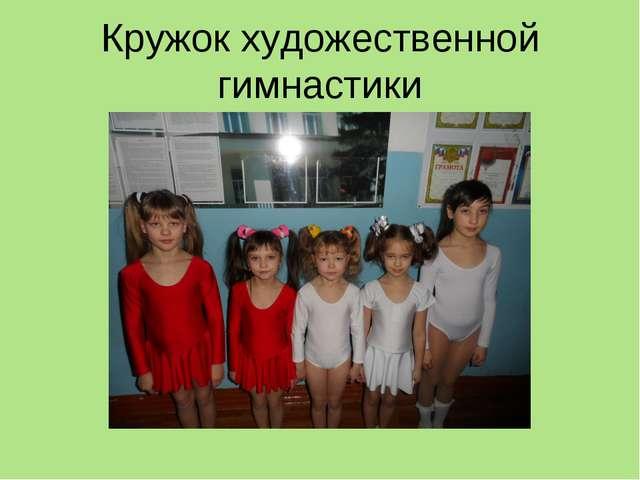 Кружок художественной гимнастики
