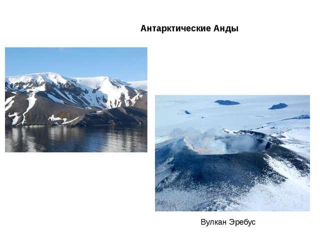 Антарктические Анды Вулкан Эребус