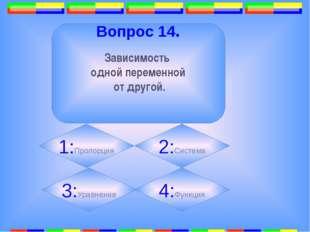 11. Вопрос 16. Точка, равноудалённая от всех точек окружности. 1: 2: 3:Центр