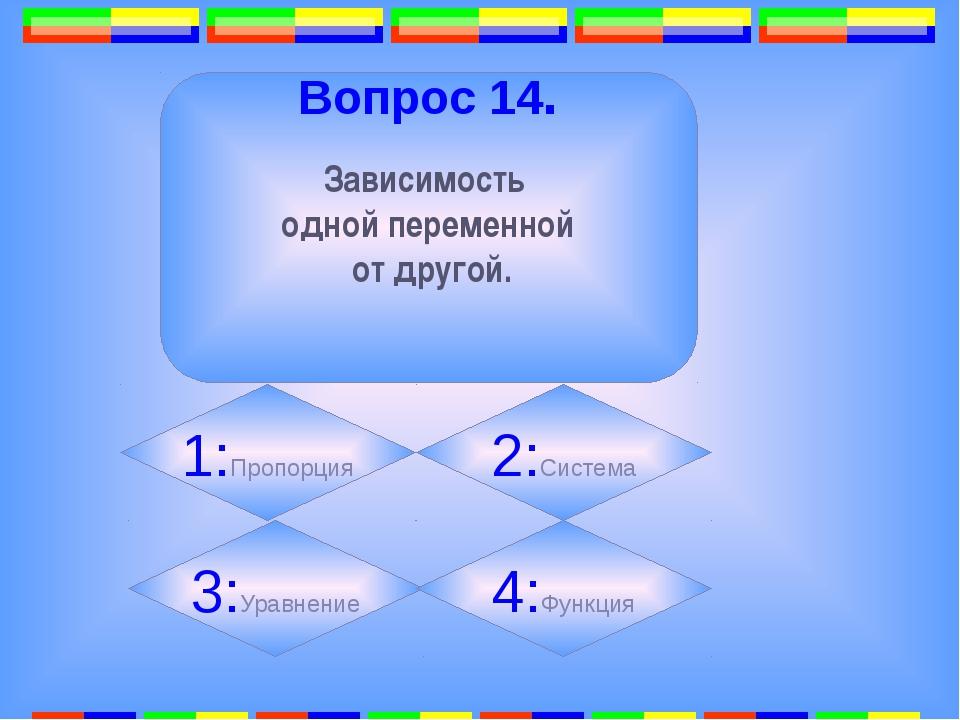 11. Вопрос 16. Точка, равноудалённая от всех точек окружности. 1: 2: 3:Центр...