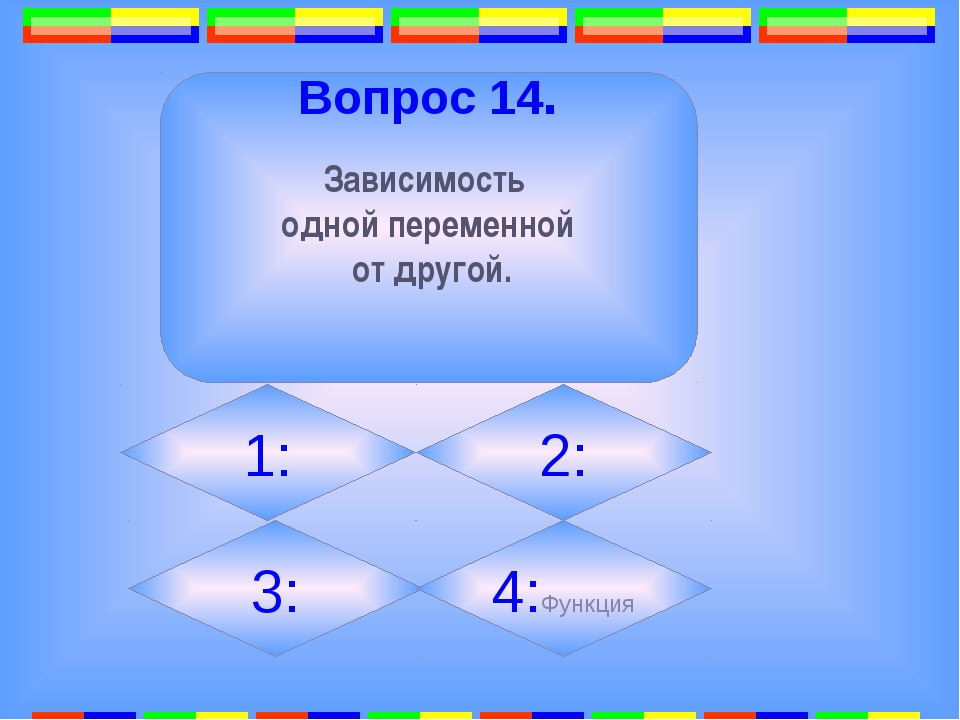 12. Вопрос 17. Какая фигура образуется при пересечении двух прямых? 1: квадр...