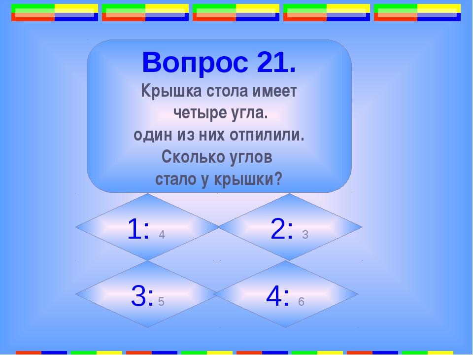 6. Вопрос 23. Многоугольник с наименьшим числом сторон называется… 1: 2: Тре...