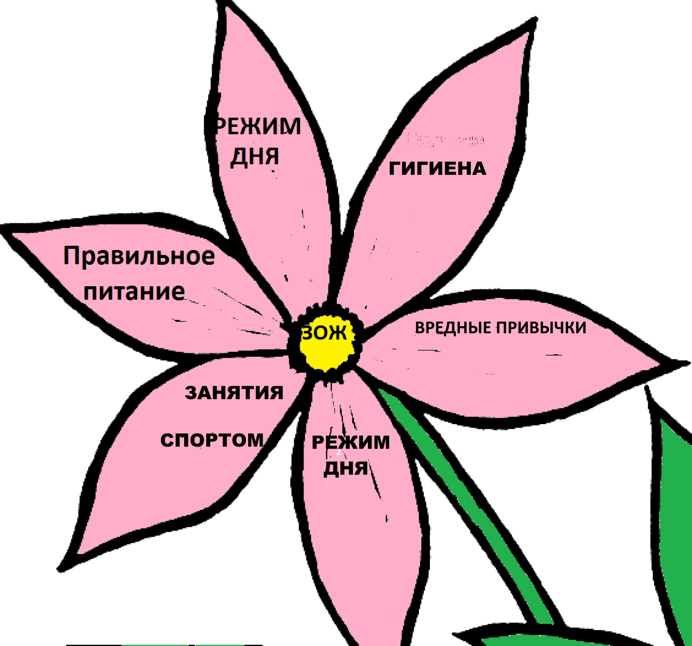 D:\Картинки\Цветы для раскрашивания\4830[1].png