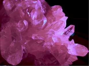 «Почти весь мир кристалличен. В мире царит кристалл и его твердые, прямолиней