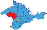 карта крыма - Сакский район