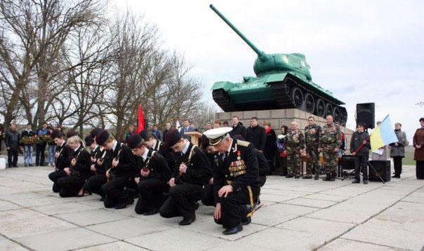 т-34 в парке Памяти