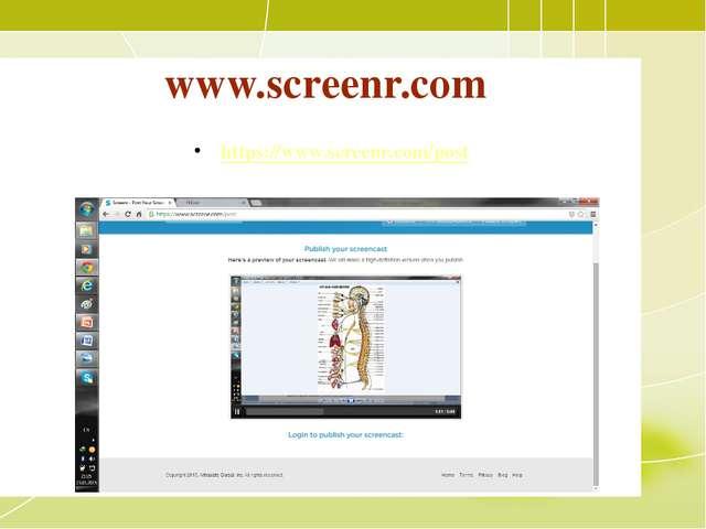www.screenr.com https://www.screenr.com/post