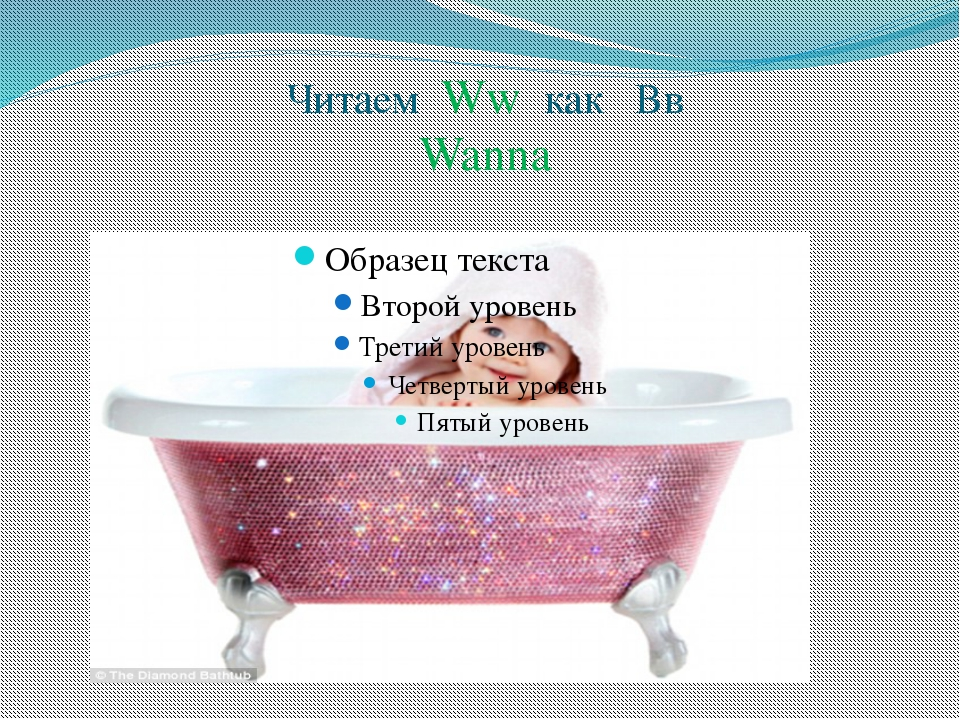 Читаем Ww как Вв Wanna