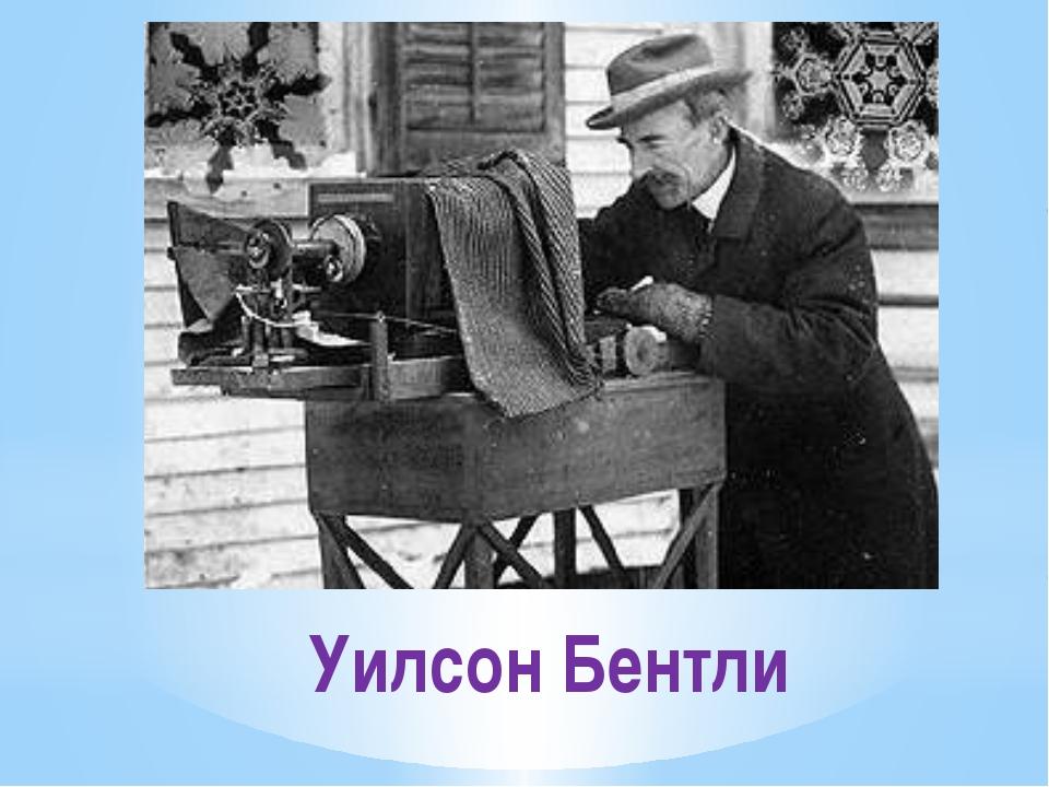 Уилсон Бентли