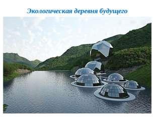 Экологическая деревня будущего