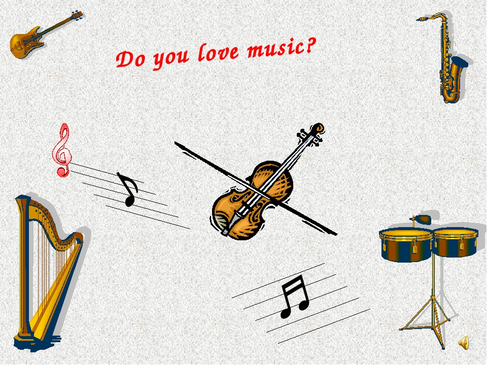Do you love music? ♪ ♫