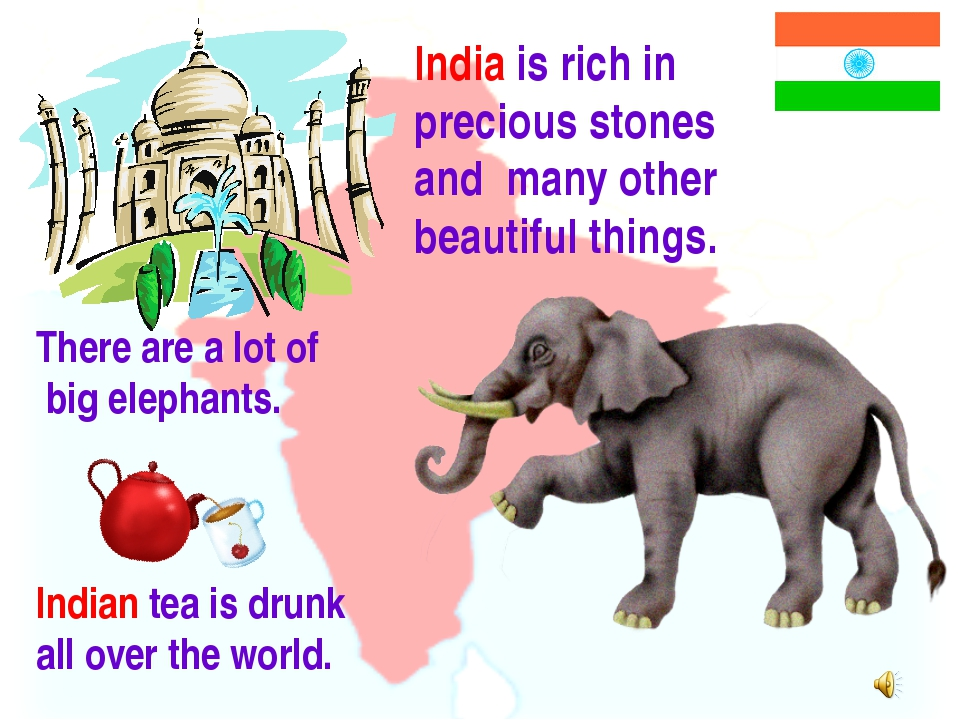 India is rich in precious stones and many other beautiful things. There are a...