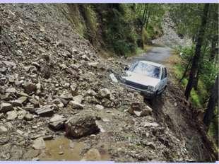 Обвал — отрыв и падение масс горных пород вниз со склонов гор под действием с