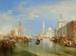 Уильям Тёрнер. Венеция. Маяк и церковь святого Георгия (1842)