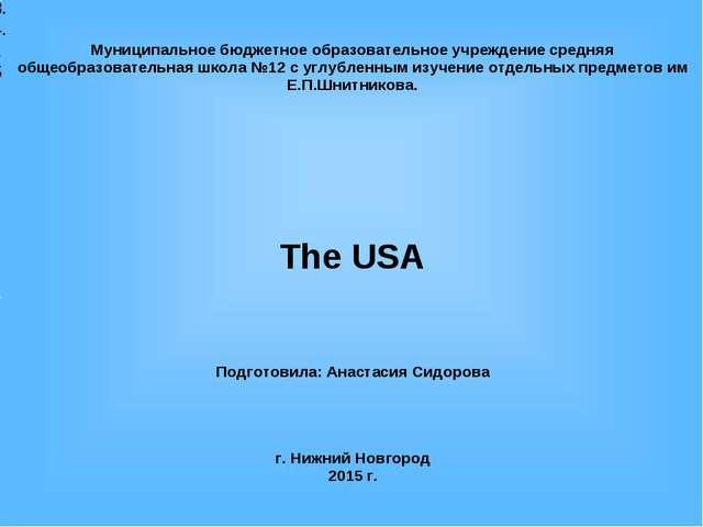 8.4.15 Муниципальное бюджетное образовательное учреждение средняя общеобразов...