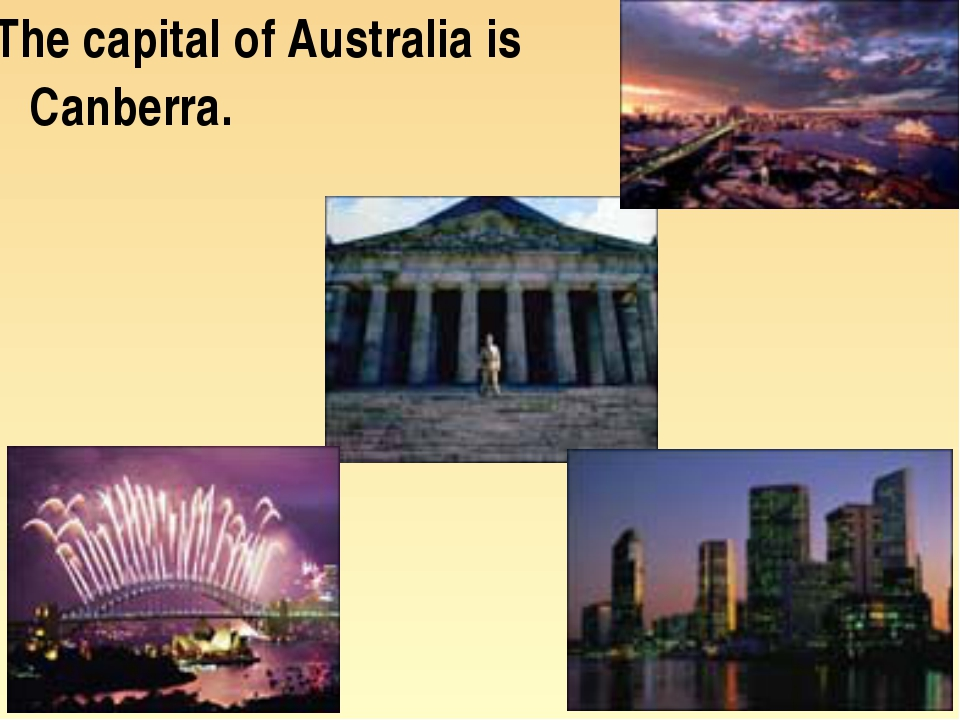 The capital of Australia is Canberra.