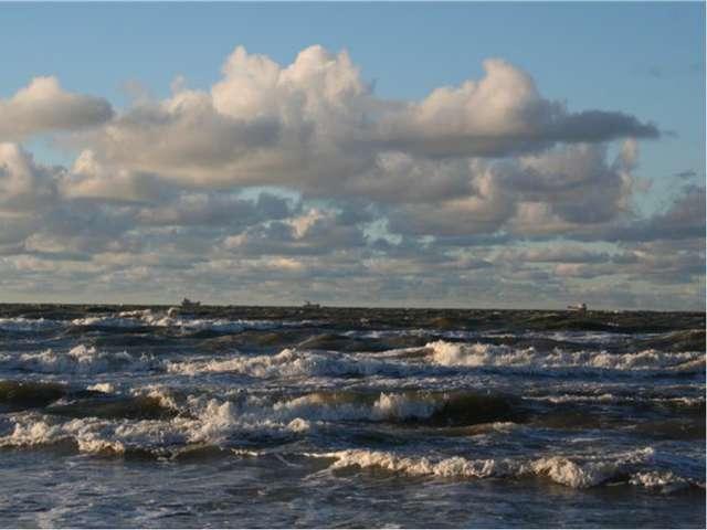 Балтийское море холодное? Т воды на поверхности в августе в Финском заливе 15...
