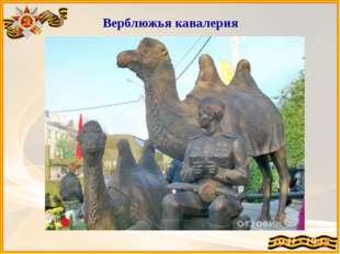 Верблюжья кавалерия В Астрахани была сформирована 28-я резервная армия, в со