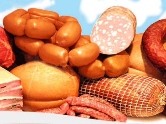 Скачать Колбасные изделия картинки 1130x625 px