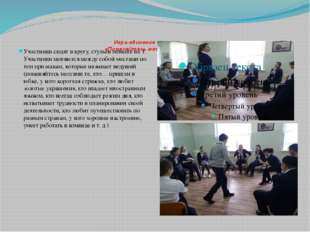 Игра-единение по интересам «Поменяйтесь местами те, кто…» Участники сидят в