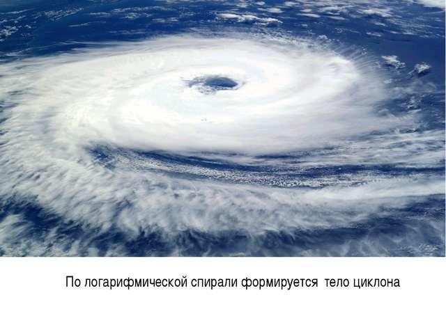 По логарифмической спирали формируется тело циклона к содержанию