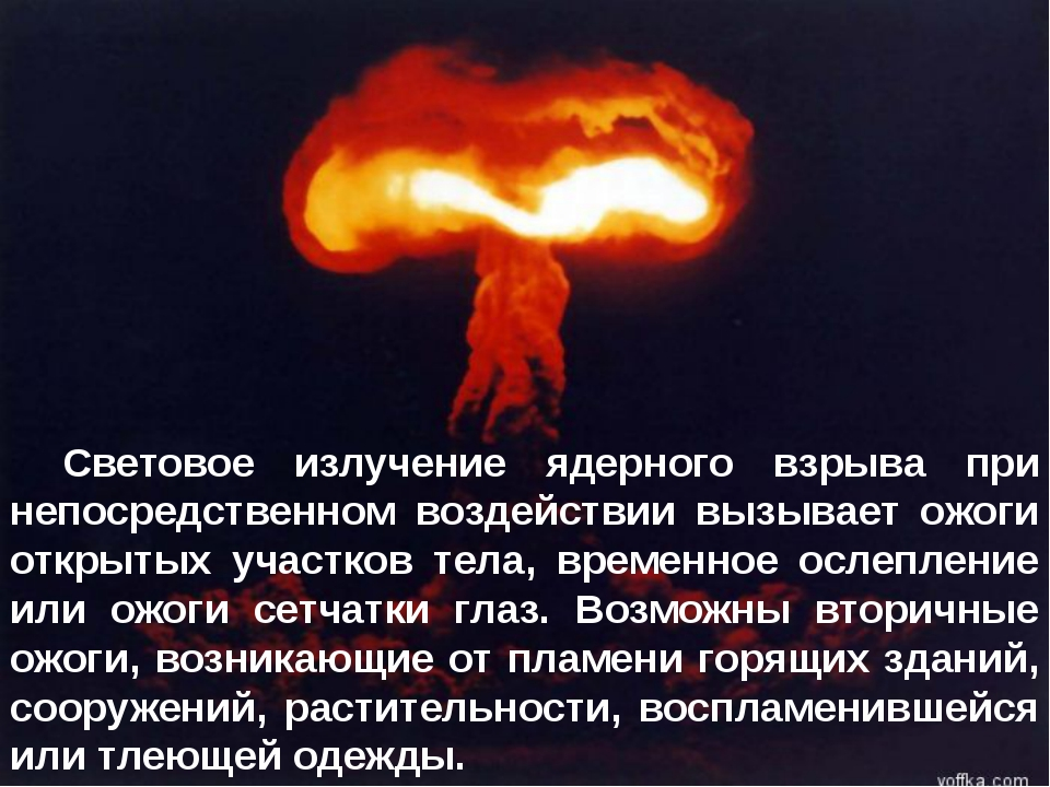 Световое излучение ядерного взрыва при непосредственном воздействии вызывает...