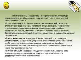 * По мнению Я.С.Турбовского , в педагогической литературе насчитывается до 40