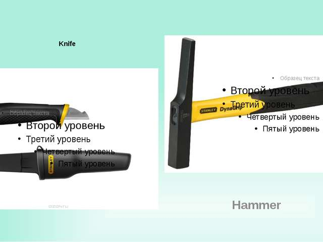 Knife Hammer