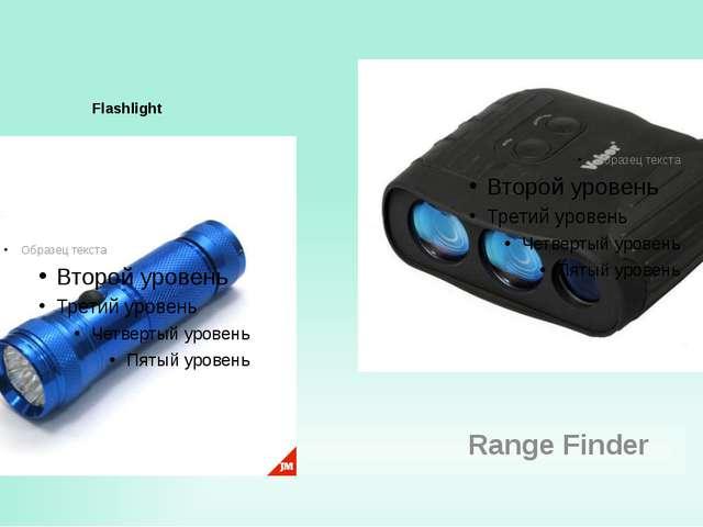 Flashlight Range Finder