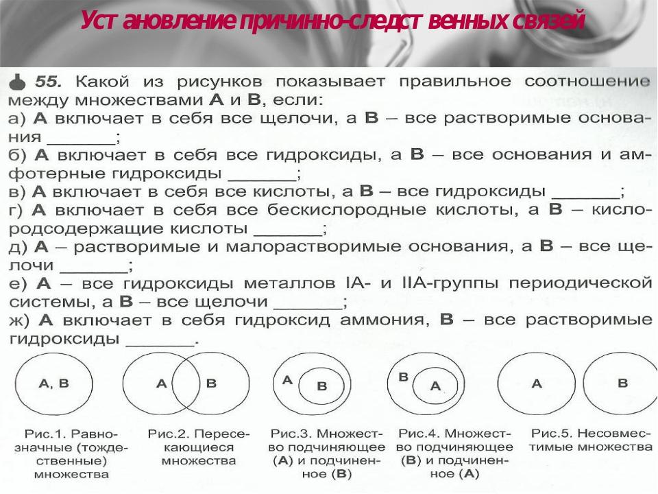 Горбенко Н.В. Установление причинно-следственных связей