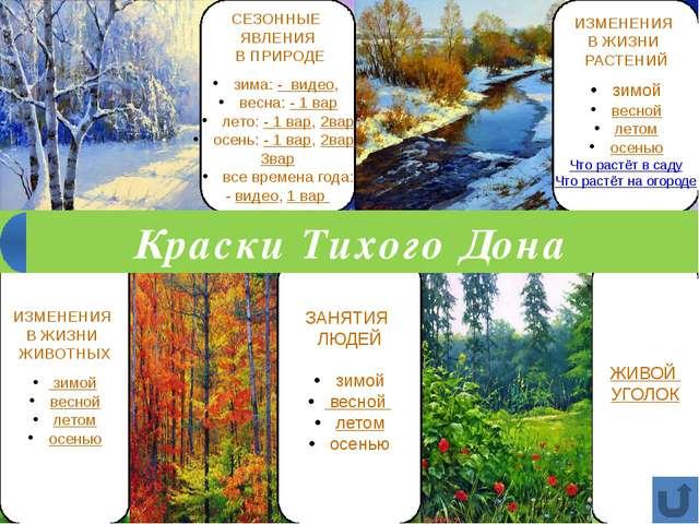ЖИВОЙ УГОЛОК ИЗМЕНЕНИЯ В ЖИЗНИ РАСТЕНИЙ зимой весной летом осенью Что растёт...