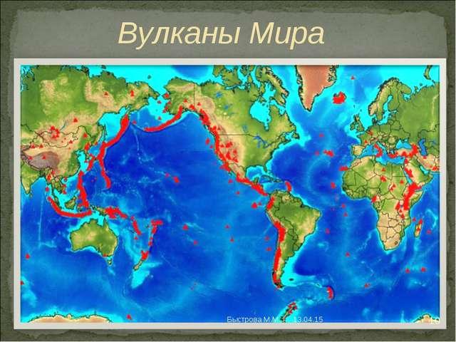 Вулканы Мира * * Быстрова М.М. Быстрова М.М.